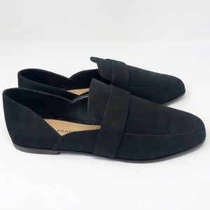 Lucky Brand Adelha Black Suede Loafers
